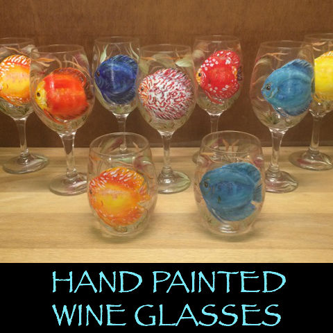 Wine Glasses (18oz & 20oz)